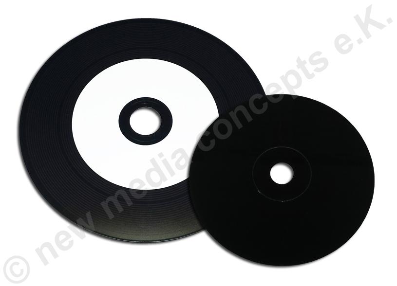 vinyl cd rohling cd r im schallpaltten look super glossy. Black Bedroom Furniture Sets. Home Design Ideas